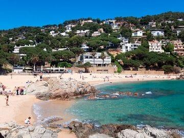 Пляж Сан Франсеск или кала Бона, Бланес (Cala Sant Francesc / Cala Bona)
