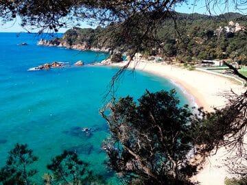 Пляжи Санта-Кристина и Треумал, Льорет-де-Мар (Playa de Santa Cristina, Playa de Treumal)