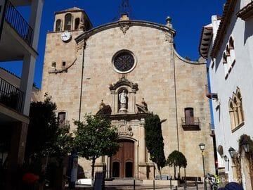 Церковь Сан-Висенте в Тосса-де-Мар (Iglesia parroquial de San Vicente)