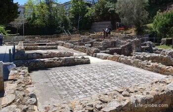 Римская вилла Аметльерс в Тосса-де-Мар (Villa romana dels Ametllers) - археологические раскопки