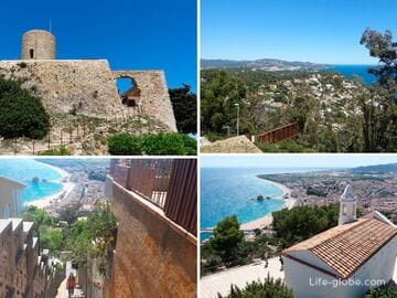 Замок Сан Хуан, Бланес (Castell de Sant Joan de Blanes): башня, часовня и смотровые площадки