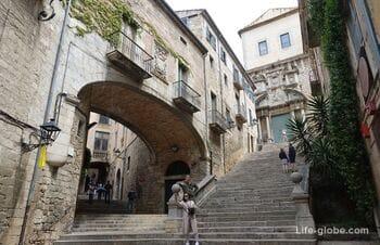 Girona's Old Town «Barri Vell» (historic center)