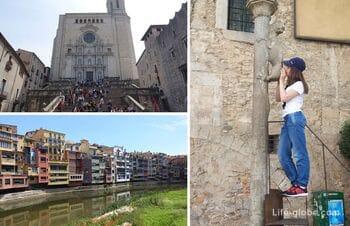 Sights of Girona, Spain