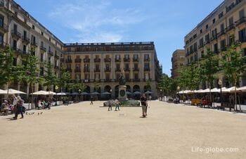 Independence Square, Girona (Plaça de la Independència) - the most popular area of the city