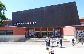 Lion Market in Girona (Mercat del Lleo)