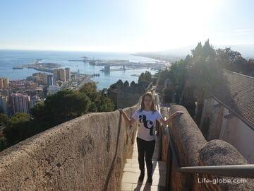 Крепости Алькасаба и Хибральфаро - монументальный ансамбль Малаги