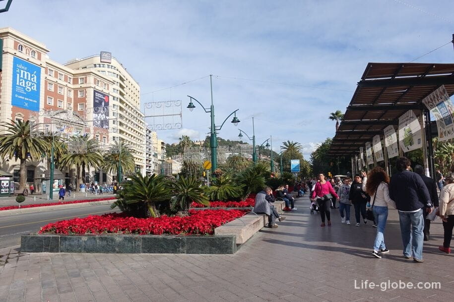 Malaga, near the Marine Square