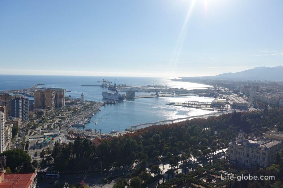 Малагский порт