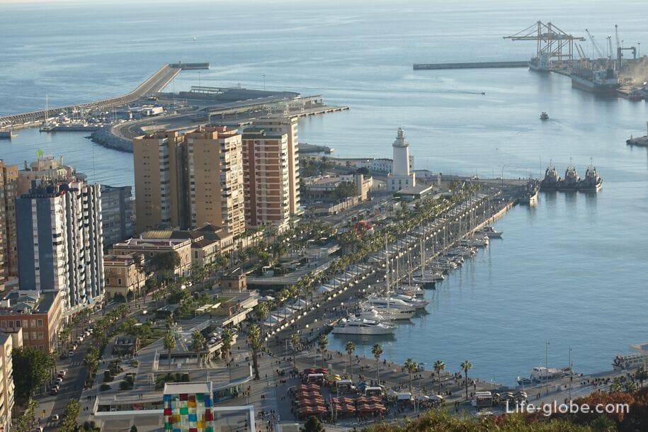 Порт Малага
