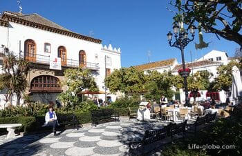 Sights of Marbella, Spain