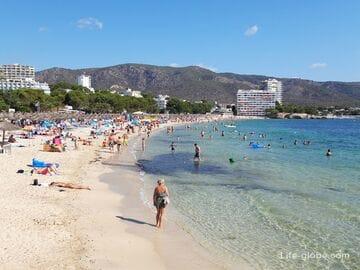 Пляж Пальманова, Майорка (Playa Palmanova)