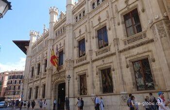 Дворец Совета Майорки в Пальме (Palau del Consell de Mallorca)