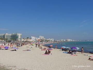 Курортный район Плайя-де-Пальма, Майорка (Playa de Palma)