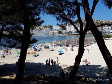 Пляж Санта-Понса, Майорка (Playa de Santa Ponca)