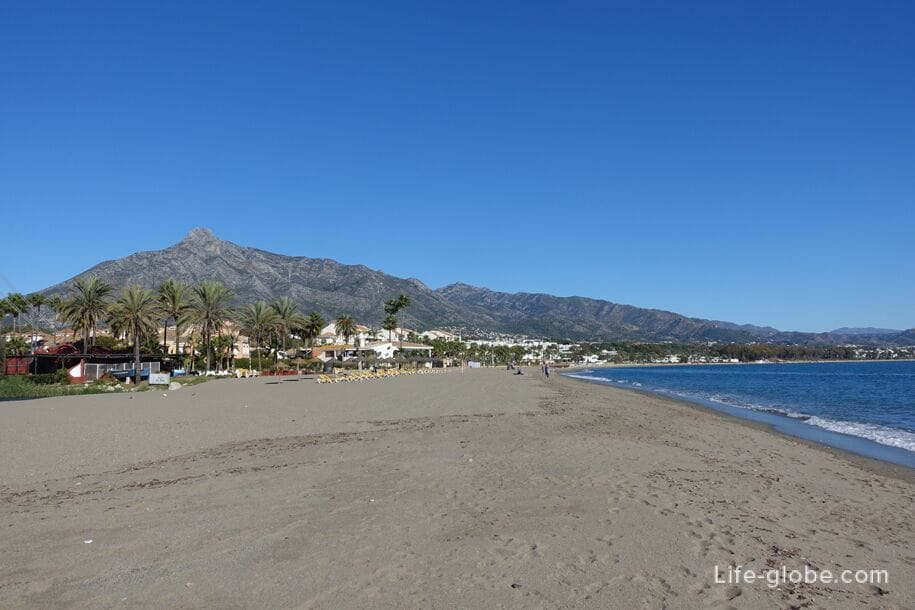 Beach of Puerto Banus, Marbella