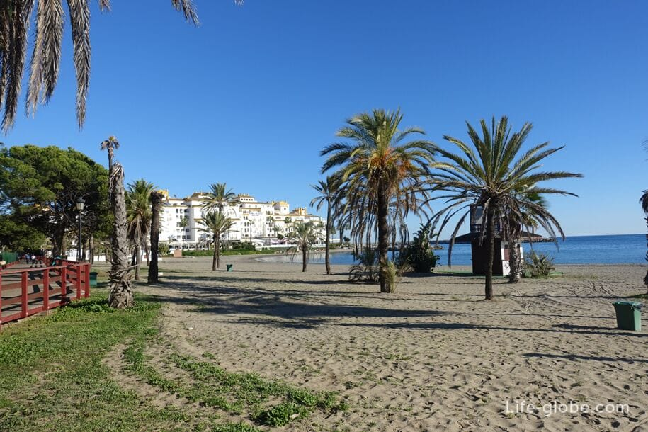 Beach of Nueva Andalucia, Marbella