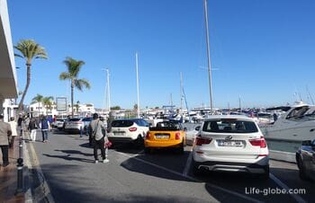 Puerto Banus, Marbella - the most fashionable and famous port of Spain