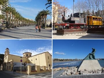 Sights of Salou