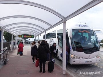 How to get to Tarragona from Barcelona (airport and city center)