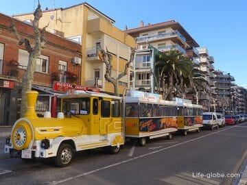 Tourist Train in Salou