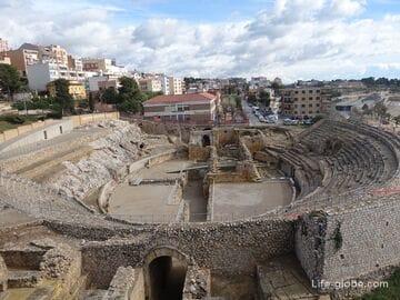 Римский Амфитеатр в Таррагоне (Amfiteatre de Tarragona)