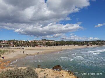 Пляж Аррабассада, Таррагона - один из лучших в Таррагоне