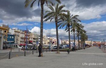 Морской квартал Серралло в Таррагоне (El Serrallo)