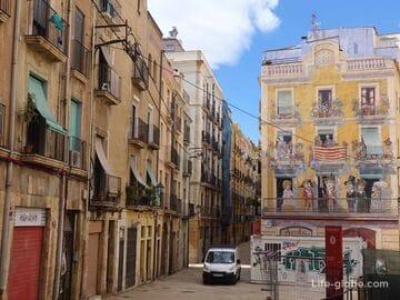 Старый город Таррагоны (квартал Part Alta) - сердце исторического центра города