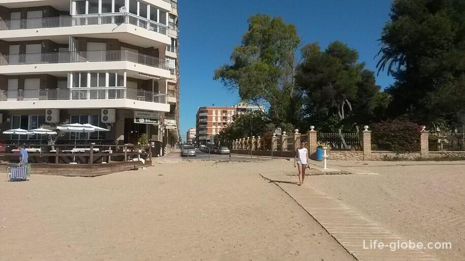 Пляж Асекьон в Торревьехе