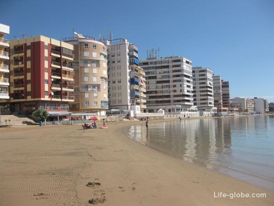Пляжи Торревьехи - Асекьон