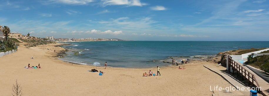 Пляжи Торревьехи - Кабо Сервера
