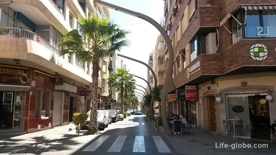 Улицы Торревьехи