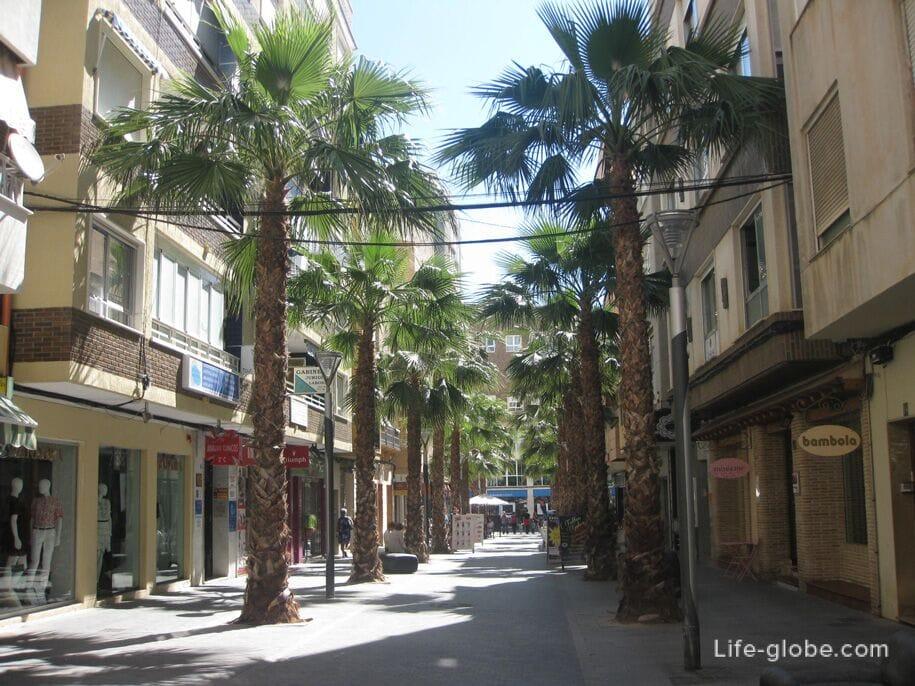 Улицы Торревьехи, Испания