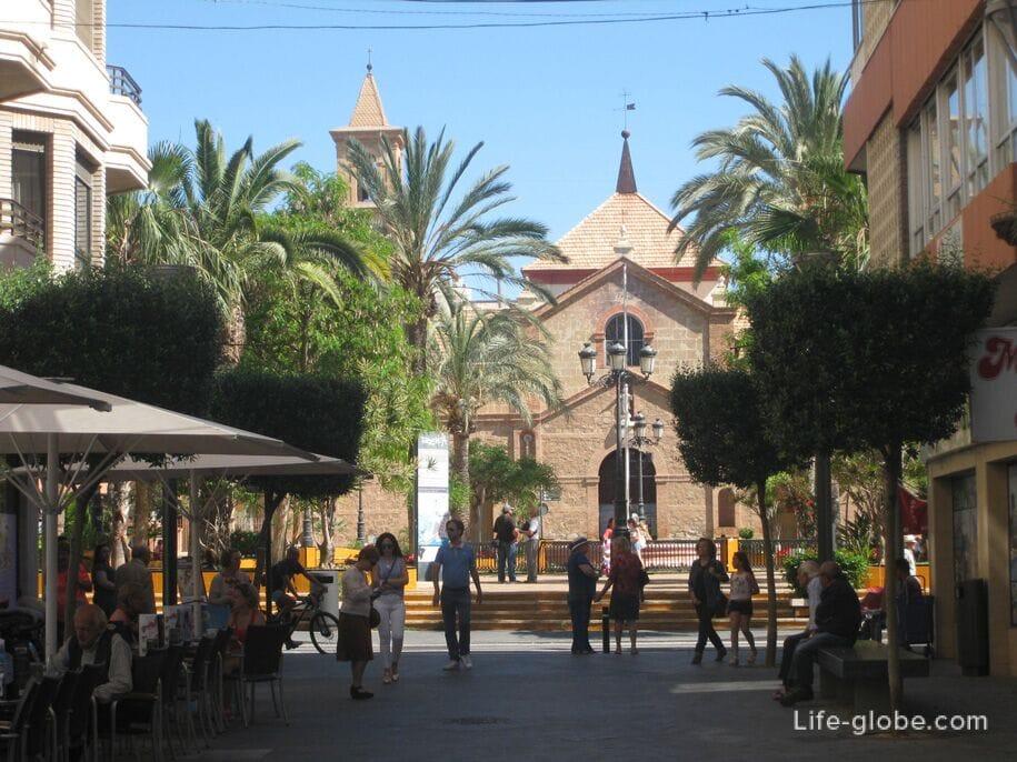 Торревьеха, Испания