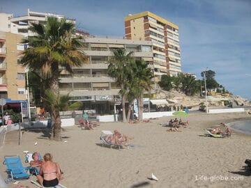Пляж Финестрат (Кала де Финестрат / Cala de Finestrat), Испания