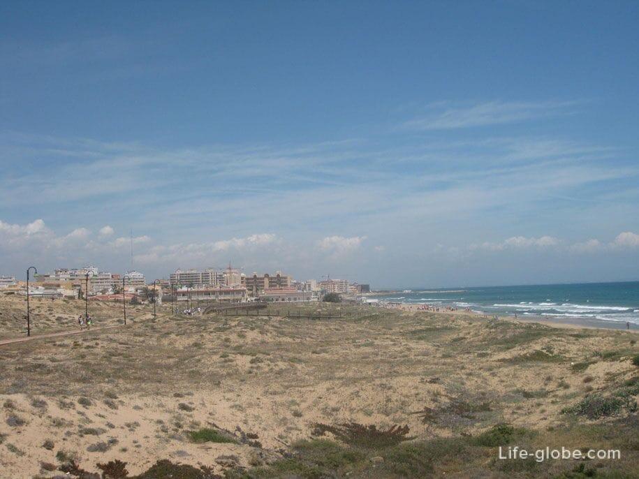 Набережная, пляж Ла Мата, Торревьеха