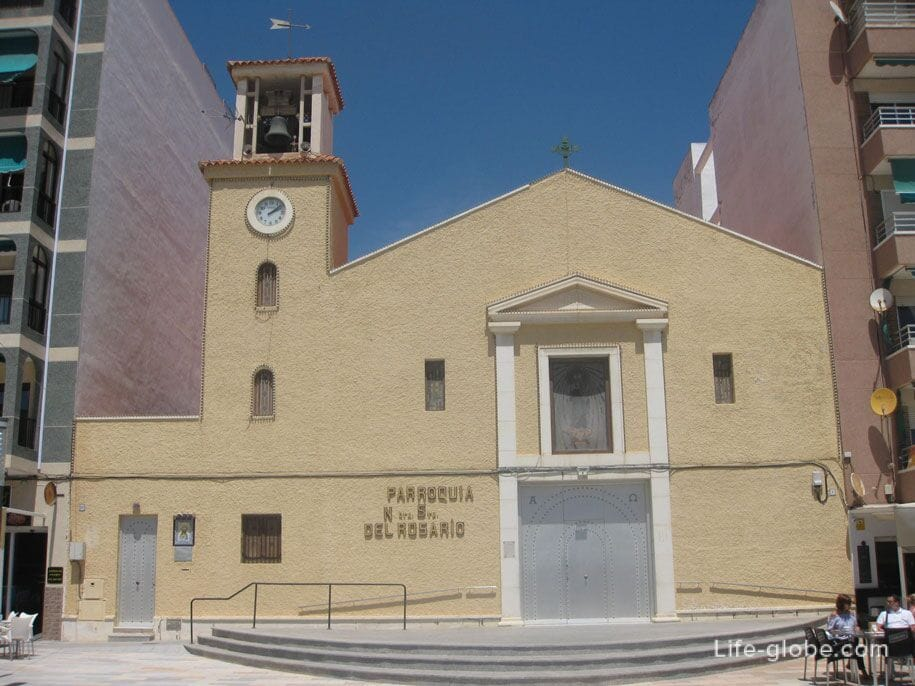 Католическая церковь Parroquia Nuestra Señora del Rosario, Ла Мата