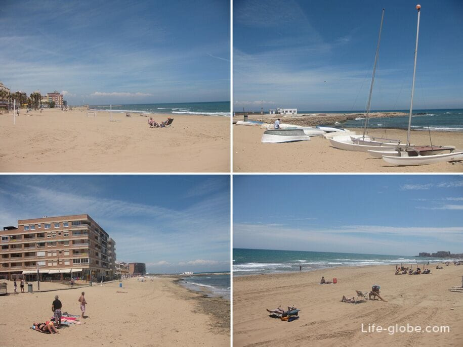 Пляж Ла Мата, Торревьеха
