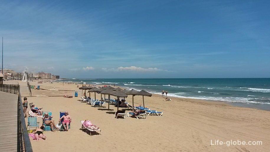 Пляжи Торревьехи - Ла Мата
