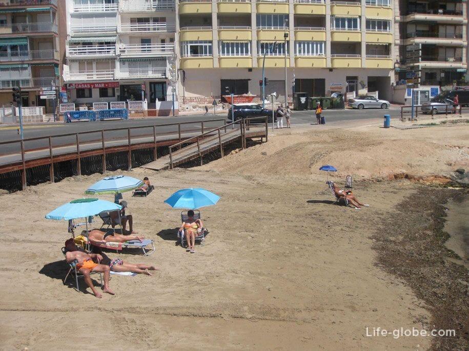 Пляжи Торревьехи - бухта Кала дель Палагре