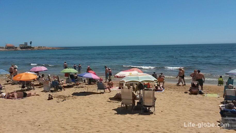 Пляж Los Locos, Торревьеха