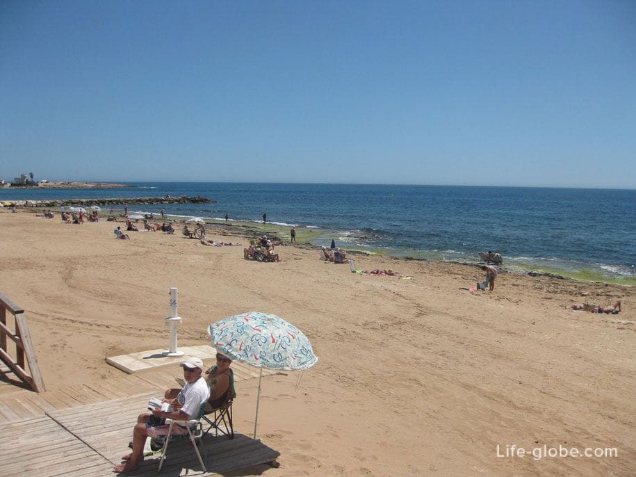 Пляж Локос в Торревьехе