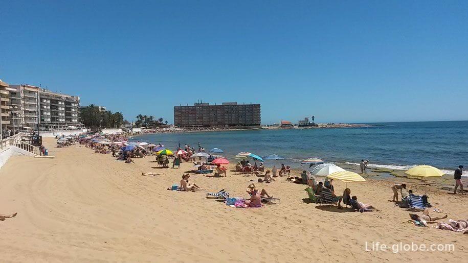 Пляжи Торревьехи - Лос Локос