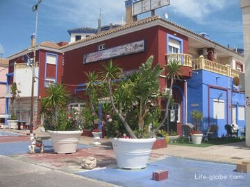 Комплекс Marina Internacional - интересное место у морского порта в центре Торревьехи