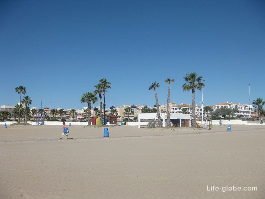Пляжи Торревьехи - Науфрагос