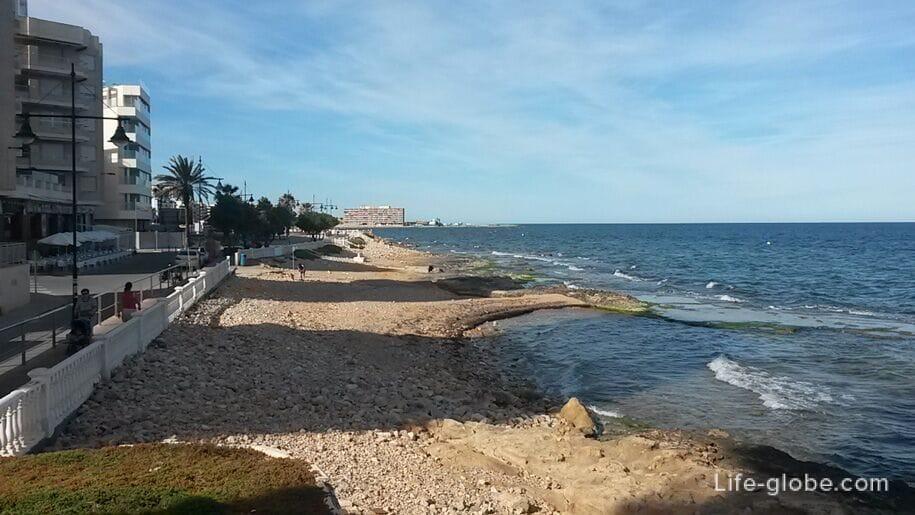 Пляжи Торревьехи - побережье в центре города