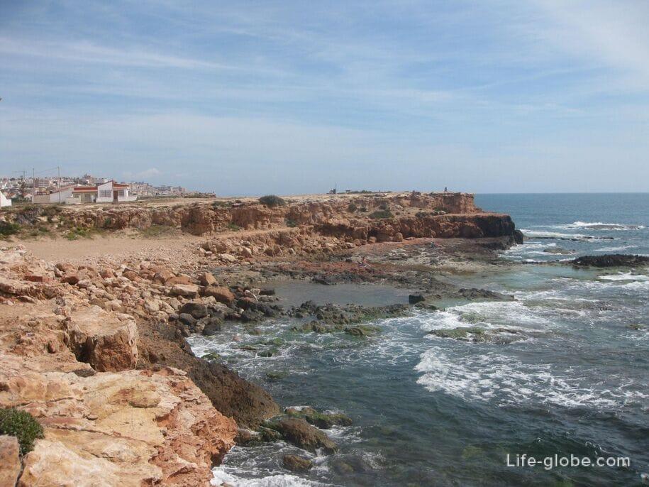 Скалистое побережье Торревьехи, Испания