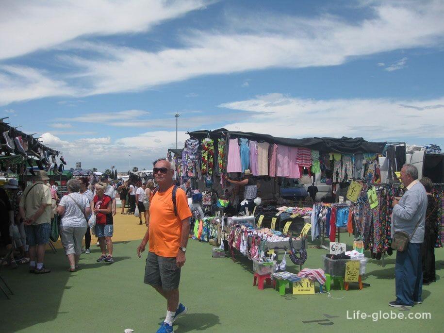 Выездной рынок в Торревьехе