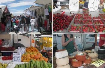Пятничный рынок в Торревьехе