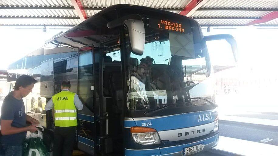 Автобус Аликанте - Бенидорм, перевозчик ALSA